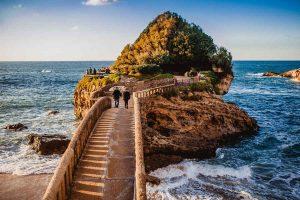biarritz france ocean