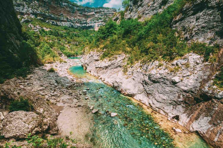 rivière montagne verdon